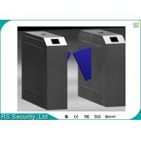 Quality IR Sensor Flap Barrier Turnstile Security Systems Attendance Subway Gates for sale