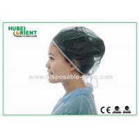 Quality Anti Dust Single Use Medical Bouffant Hair Cover With Back Tie for sale
