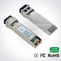 Quality 10Gb/s SFP + 80KM Fiber Optical Module With LC Connector for sale
