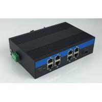 Quality 8-Port 10/100/1000Base-Tx and 1-Port 1000Base-Fx Industrial Grade Fiber Switch with 8-Port POE for sale