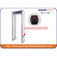Harmless to pergant woman and Children Multi Zone Metal Detector LED light indicate alarm