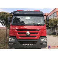 Quality 6 Seat 276kw Piston Primer Pump Water Tanker Fire Truck 6X4 Drive 85km/H for sale