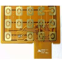 Quality Yellow Soldermask Flexible Printed Circuit Boards Prototype FR4 Stiffener Touch FPCB Polyimide Panel for sale