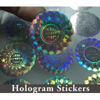 Buy Honeycomb Custom Hologram Stickers For Pharmaceutical Packaging Security at wholesale prices