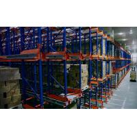 Quality Automantic Heavy Duty Radio Shuttle Racking , storage racking system for sale