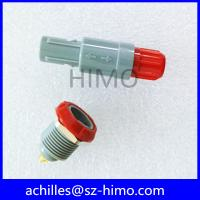 Quality double key 8 pin lemo self-latching plastic connector for sale