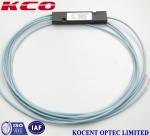 Quality 1x2 Multimode OM3 Fiber Optic Cable Splitter , customized ABS Box PLC Splitter for sale
