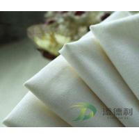 China polyester twill bleached fabric on sale