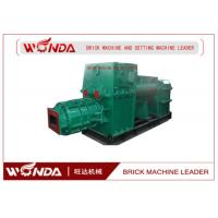 Buy Red Clay Soil Cement Brick Making Machine Vacuum Extruder High Manganese Steel at wholesale prices