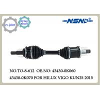 Buy cheap Auto Parts Cv.Axle Drive Shaft For Toyota Hilux Vigo Kun25 2015 Fortuner 43430 from wholesalers