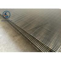 Quality Stainless Steel 316 Wedge Wire Mesh For FIlter Sieve Screening 486 Width for sale
