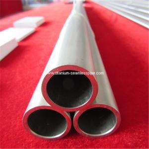 Quality grade 2 titanium Tube seamless gr2 titanium pipe  60mmOD *5 mm TH*1000mm L for sale