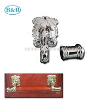 Quality H057 Australia Style Handle For Coffin Metal Coffin Handles Zamak Material for sale