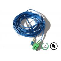 10G Duplex Patch Cord SC LC SM OS2 BI OFNR For Active Device Termination