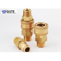 """Straight Through Brass Quick Coupler , 3/4"""" Male Thread Quick Connect Coupling"""