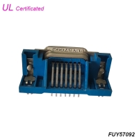 Quality Champ 14 Pin Centronic PCB Right Angle Female Connector Certified UL for sale