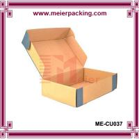 China Corrugated Paper Online Shop Packing Mailing Box for Shoes ME-CU037 on sale