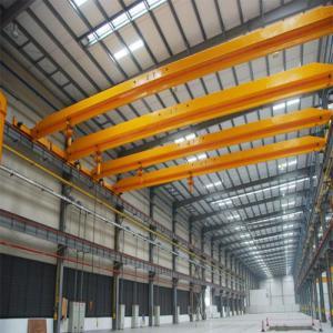 Quality 20T bridge overhead crane single beam travelling overhead crane for sale