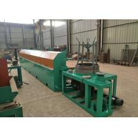 Quality High Carbon Steel Fine Wire Drawing Machine , 380 V 11KW Automatic Wire Drawing Machine for sale
