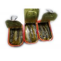 Quality 3 - 5 Pieces Canned Sardines Fish In Vegetable Oil NW 125g / DW 90g Type for sale