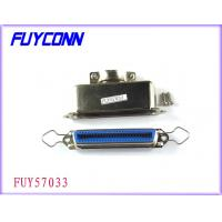 Quality 36 Pin Female Centronic Solder Connector with 180°Matel Hood Certified UL for sale