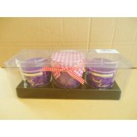Quality Nontoxic Scented Glass Jar Scented, Jar Candle Gift Set for sale