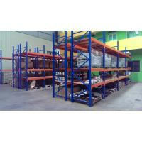 Quality Supermarket steel board heavy duty shelving with forklift entry / extract ,  2 - 8m for sale