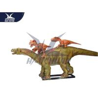 Buy cheap Life Size 3d Animated Dinosaur Model Decoration For Playground / City Center from wholesalers