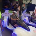 Quality 1500W 220V VR Car Racing Simulator / Arcade Games Machines for sale