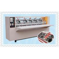 Quality semi-automatic carton packaging slitting creasing machine for sale