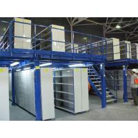Buy cheap Stable Steel Structure Mezzanine Platform System Manual Storage Large Load from wholesalers