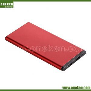 Buy cheap Ultra Slim Metal Power Bank 2000mAh Mobile External Battery Portable from wholesalers