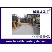 Buy cheap Safety Remote Control Straight Boom Automatic Car Park Barrier Electronic Barrier Gates from wholesalers