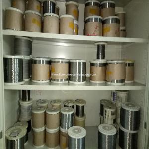 Quality 0.25mm Titanium Wire Gr1 bright surface 1kg wholesale price for sale