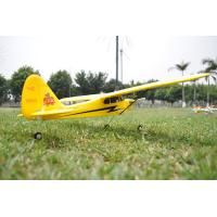 Quality 2.4Ghz 4ch Mini Piper J3 Cub Radio Controlled Airplane EPO brushless for sale