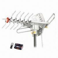 China Outdoor TV Antenna with 40 to 910MHz Frequency, Infrared Remote Control on sale