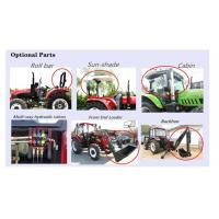 Quality China Factory Supply 55HP 4WD Mini/front tyre Garden/Orchard/Agricultural/flat tyre Farm Tractor tractor with front end for sale