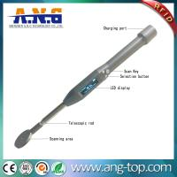Quality 134.2Khz FDX Telescopic wand LED Bluetooth passive LF animal tag RFID handheld reader for sale