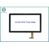 """Buy cheap 24"""" Glass-on-glass Projected Capacitive Touch Screen For Multi-touch Monitor from wholesalers"""