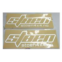 Quality High-end Refective sliver kiss cut logo decals Water resistance for sale