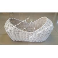 Quality China factory  high quality baby basket bassinet wicker pod basket for baby sleeping for sale