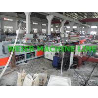 Quality Conical WPC Board Production Line For Furniture / Onstruction Template for sale