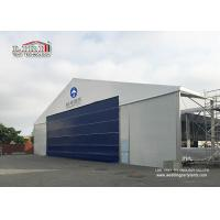 Quality High Reinforce Aluminum Military Aircraft Hangar Tent Width 20m Fire Protection for sale