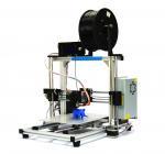 White ABS PLA Filament Desktop 3D Printer With Aluminum Frame