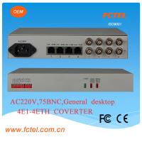 5km distance with interface converter E1 to RS232/422/485  protocol converter
