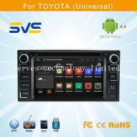 Quality Android 4.4 car dvd player GPS navigation for Toyota Universal with BT ipod 3G+mirror wifi for sale