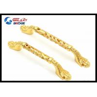Quality Hollow Kitchen Cupboard Door Handles For Furniture Ornaments European Design for sale