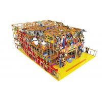 Quality Childrens Indoor Soft Playground Equipment Anti - Static For Amusement Park for sale