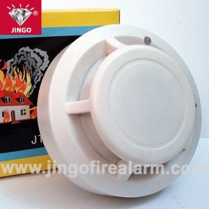Quality fire alarm 9v battery powered portable smoke detector sensor with buzzer alarm for sale
