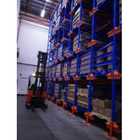 Quality Six Level HD Pallet Radio Shuttle Racking System, A High Compact Storage Model for sale